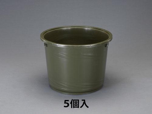 エスコ(ESCO) φ458x345mm ポリエチレン容器(OD/5個) EA991AE-50