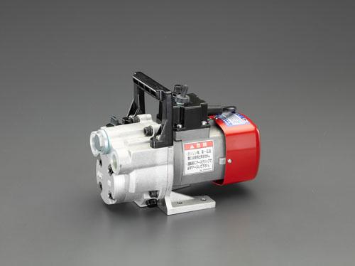 エスコ(ESCO) 10L/min AC100V オイルポンプ(電動) EA991CR-30