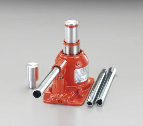 エスコ(ESCO) 10ton/120-220mm 油圧ジャッキ(フォークリフト用) EA993BL-10F