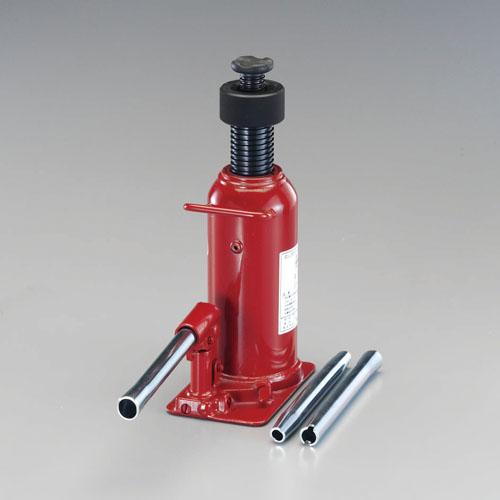 エスコ(ESCO) 10ton/300-545mm 油圧ジャッキ(ロック式) EA993BP-10
