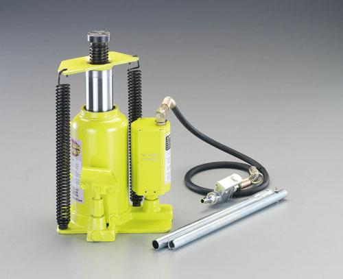 エスコ(ESCO) 20ton/244-476mm 油圧ジャッキ(エアーコントロール) EA993CE-20