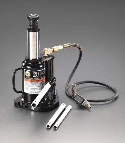 エスコ(ESCO) 12ton/240-470mm 油圧ジャッキ(エアーコントロール) EA993CJ-1