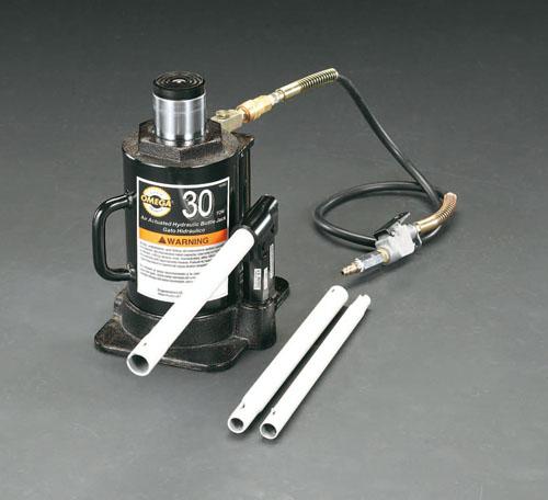 エスコ(ESCO) 30ton/280-460mm 油圧ジャッキ(エアーコントロール) EA993CJ-3