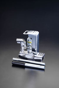 エスコ(ESCO) 3.0ton/19-134mm 爪付ジャッキ(クリーンルーム用) EA993K-3A