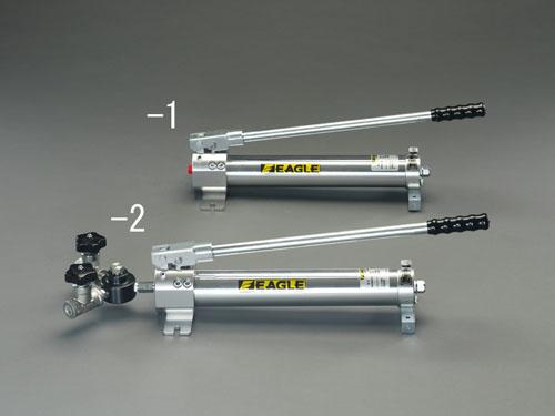エスコ(ESCO) 800cc 油圧ポンプ(手動・1連) EA993KL-1