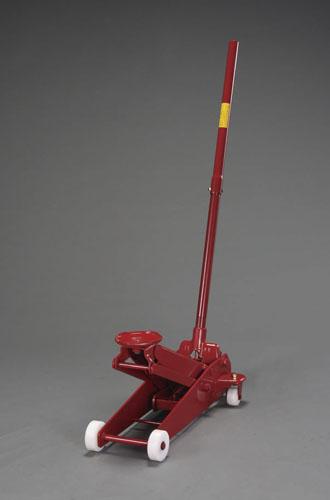 エスコ(ESCO) 1.5ton/113-473mm トロリージャッキ(ナイロン車輪) EA993LG-1.5N