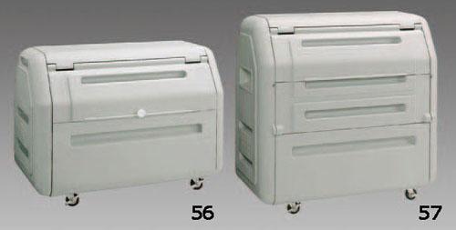 エスコ(ESCO) 1180x710x864mm/410L ワイドダストボックス EA995CC-56