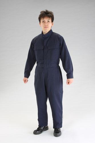 エスコ(ESCO) [LL] 防炎性継ぎ作業服 EA996AL-3