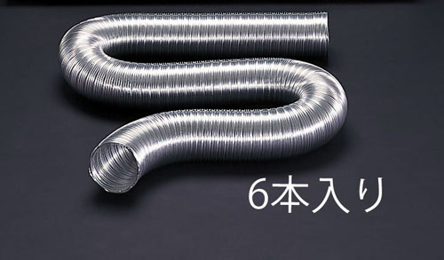 エスコ(ESCO) φ150mmx4m 伸縮アルミダクト(6本) EA997N-150