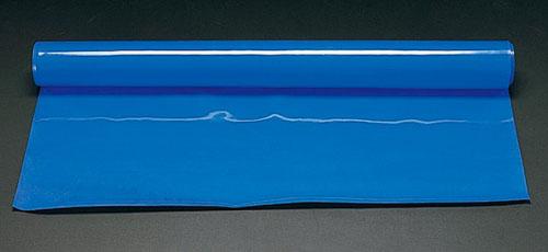 エスコ(ESCO) 1.0x5.0m/4.0mm ゴムシート(ブルー) EA997RB-405B