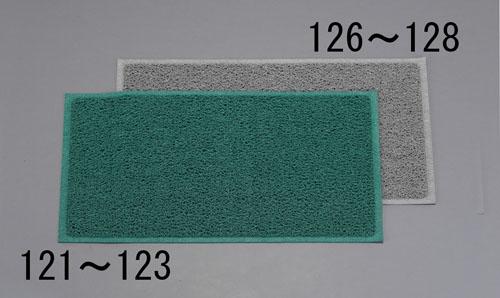 エスコ(ESCO) 900x1500mm 玄関マット(灰) EA997RH-128