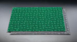 エスコ(ESCO) 900x1500mm エコ・レインマット(灰) EA997RH-72