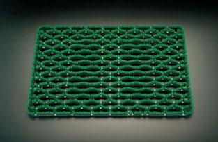 エスコ(ESCO) 600x900mm 足ふきマット(グリーン) EA997RX-1