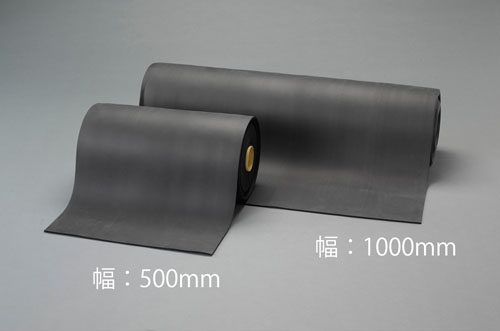 エスコ(ESCO) 500mmx10m/3mm スポンジロール(EPDM) EA997XD-81