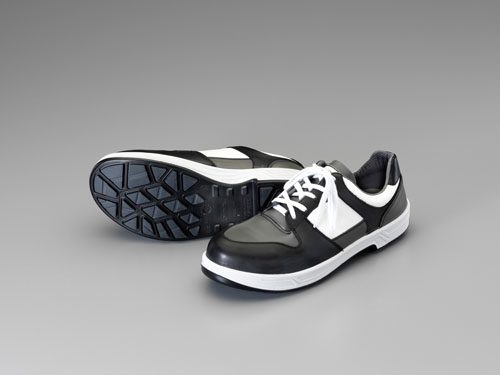 エスコ(ESCO) 23.5cm 安全靴(耐油底/紐式) EA998VG-23.5