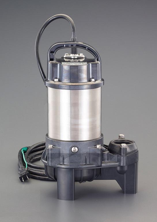 エスコ(ESCO)  AC100V/150W(50Hz)/40mm 水中ポンプ(汚物用 EA345PD-50