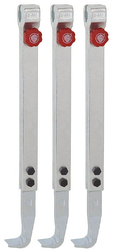 エスコ(ESCO)  500mm [EA500BH-250用]アーム(3本組) EA500BH-9