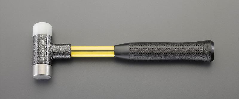 エスコ(ESCO)  50mm/1298g 無反動ハンマー(ナイロン・鉄) EA570AH-6