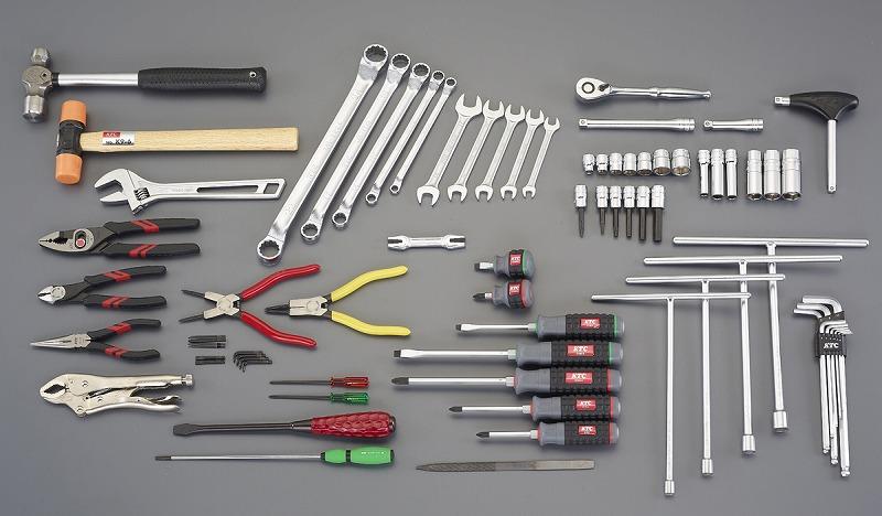 エスコ(ESCO)  [69個組] 工具セット EA612SB-51