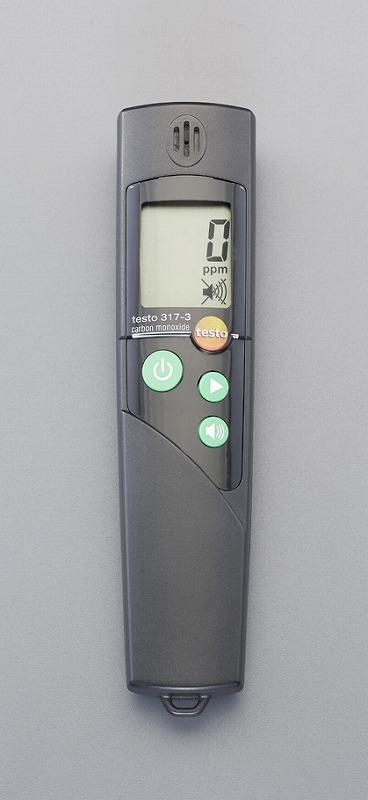 エスコ(ESCO) 0-1999ppm 一酸化炭素濃度計(アラーム付) EA733AJ-1