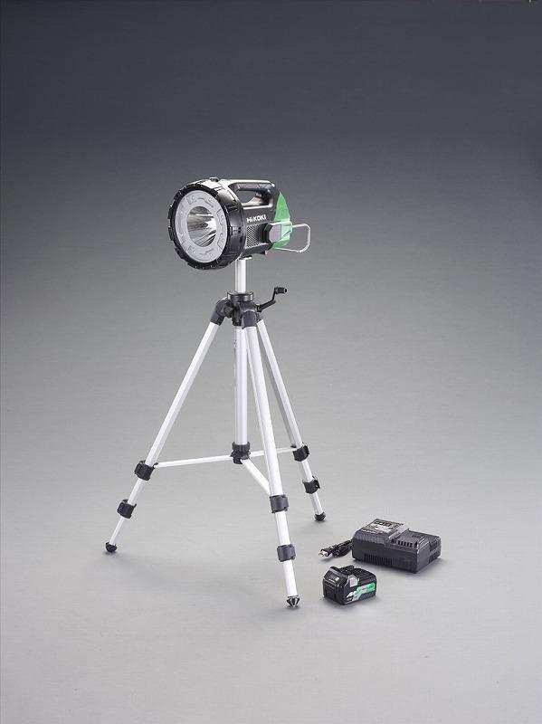エスコ(ESCO) [充電式]LEDサーチライト(三脚付) EA758HK-11