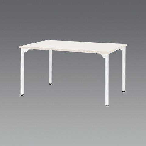 エスコ(ESCO) 1500x 750x720mm ミーティングテーブル(ホワイト) EA954HC-653
