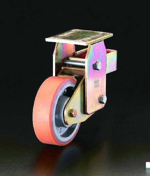 【全商品オープニング価格 特別価格】 店 キャスター(固定金具・スプリング付) EA986KL-300:工具屋のプロ エスコ(ESCO) 300mm-その他