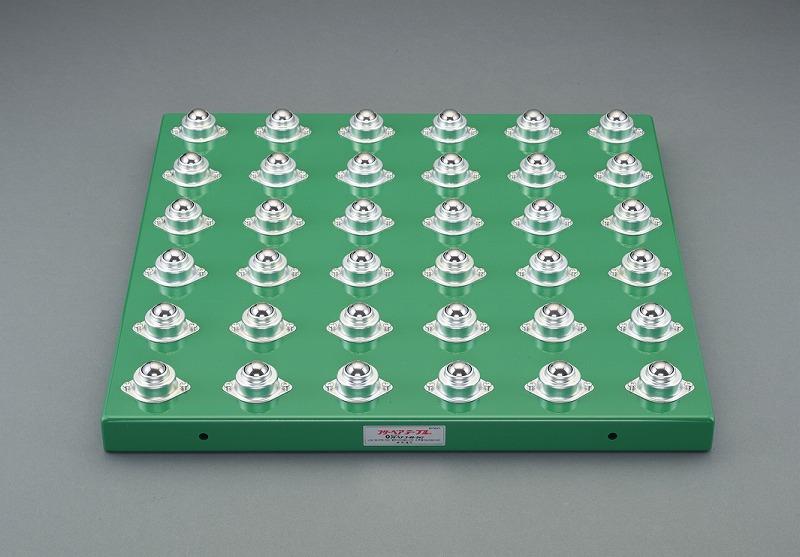 エスコ(ESCO) 500x800mm [スチール製]ボールキャスターテーブル EA986S-211
