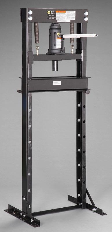 エスコ(ESCO) 12 ton 門型油圧プレス(手動式) EA993BV-10