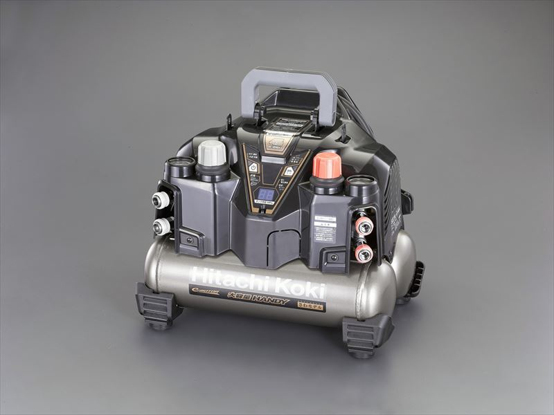 エスコ(ESCO) AC100V/ 1.2kW 高圧エアーコンプレッサー(タンク 8L) EA116HF-2B