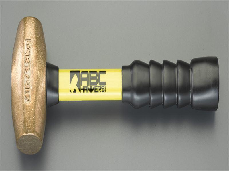 エスコ(ESCO) 1350g/41mm 銅ハンマー(グラスファイバー柄) EA575ES-2