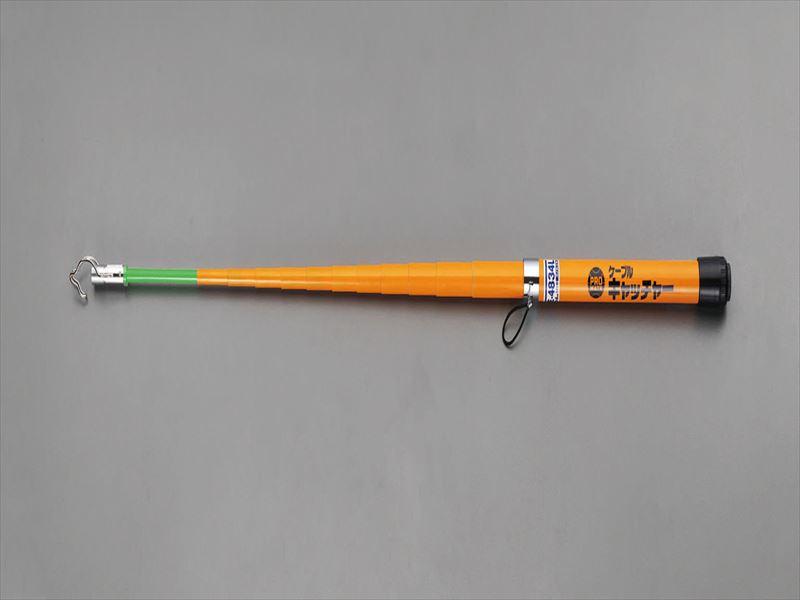 エスコ(ESCO) 8m FRPケーブルキャッチャー(ライト付) EA597G-66
