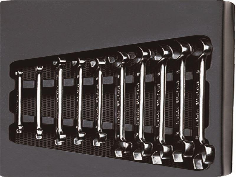 エスコ(ESCO) 10本組/5.5-22mm  両口スパナ EA612TK-1
