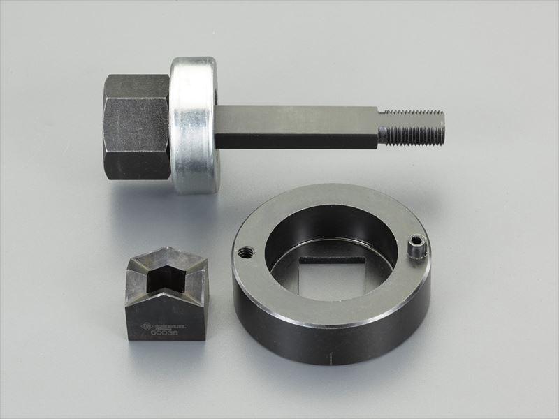 エスコ(ESCO) 19.1x33.3mm 角パンチユニット EA620GD-24