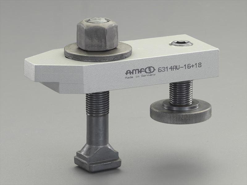 エスコ(ESCO) M20/160mm サポートスクリュー付ステップクランプ EA637BF-20