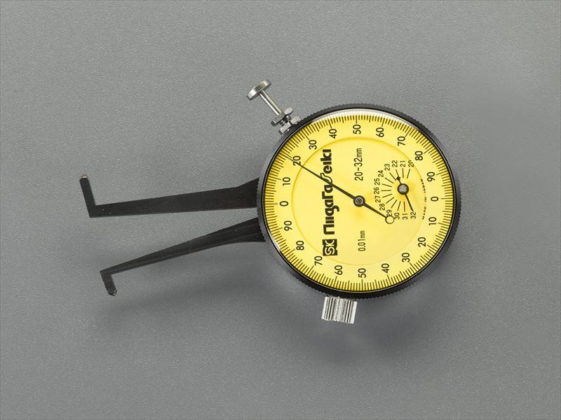 エスコ便利カタログNo.50:787P掲載 エスコ ESCO 20-32mm 休日 激安通販ショッピング EA725AC-53 内測用 ダイヤルキャリパゲージ