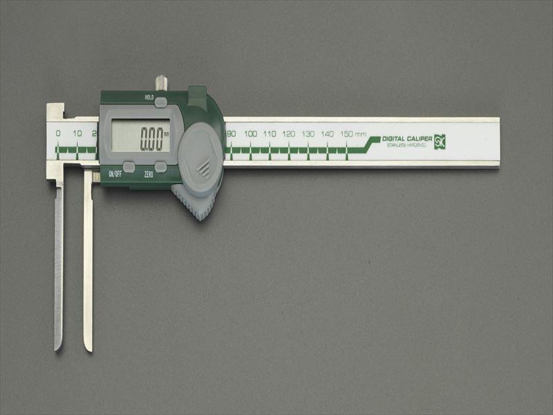 エスコ(ESCO) 5-150mm デジタルノギス(インサイド型) EA725CR-60