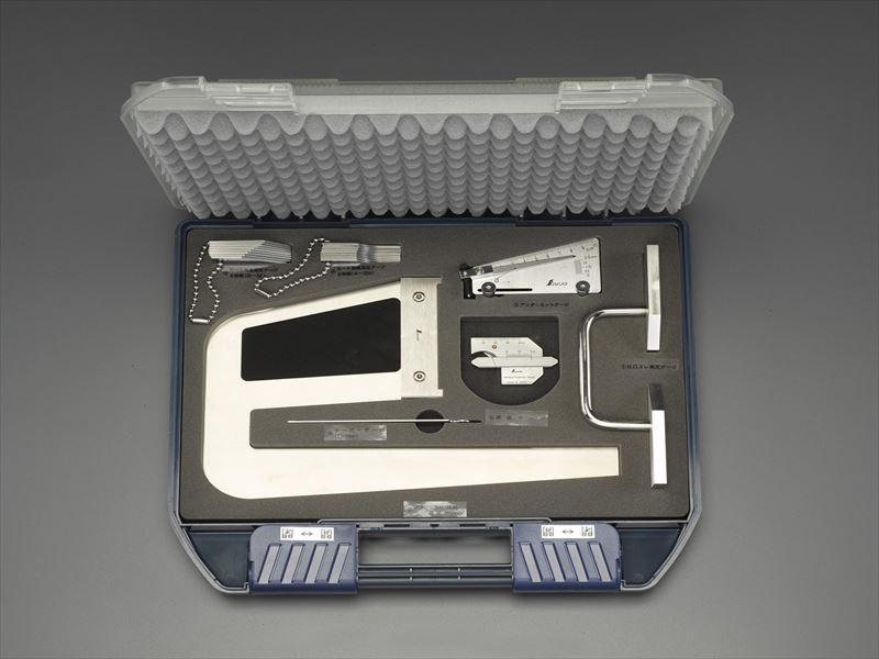 玄関先迄納品 鉄骨精度測定器具(7点セット) 店 EA725EX-12:工具屋のプロ エスコ(ESCO)-DIY・工具