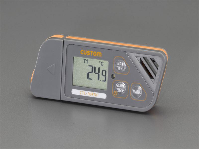 エスコ(ESCO) 温度データロガー EA742GB-52
