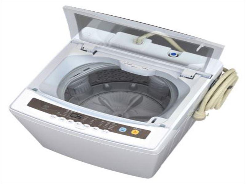 エスコ(ESCO) 8.0kg/590x575x 930mm 全自動洗濯機 EA763Y-31
