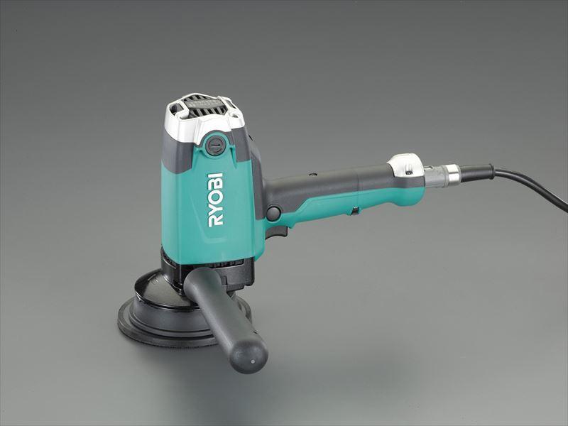 エスコ(ESCO) 125mm[脱着式] ポリッシャー(ギアアクション・コード無) EA809PR-52