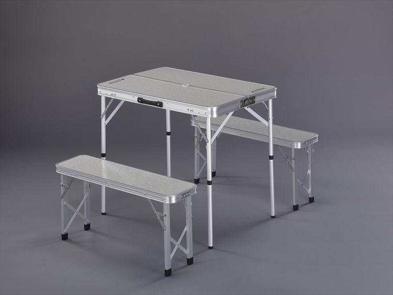 エスコ(ESCO) 900x620x700mm/380mm テーブル・チェアーセット EA913YA-52