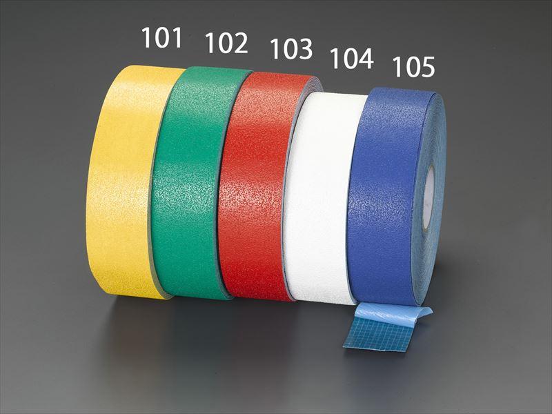 エスコ(ESCO) 76.2mmx32.9m 超強力ラインテープ(白) EA944SG-104