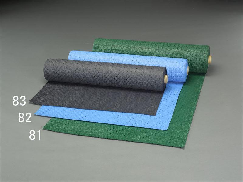 エスコ(ESCO) 0.92x10m /2.0mm ノンスリップマット(緑) EA997RA-81