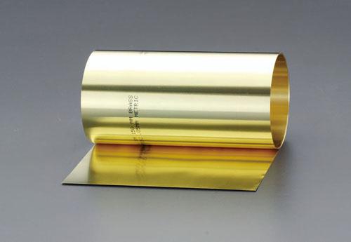 エスコ(ESCO) 0.50x150mm/2.5m シム(真鍮製) EA440EC-0.5