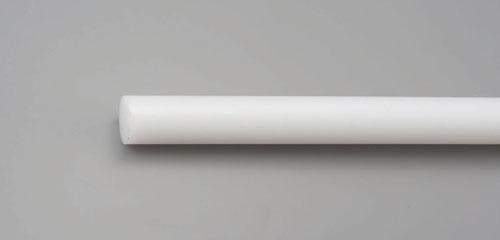 エスコ(ESCO) 80x1000mm 硬質ポリエチレン丸棒 EA441PA-80