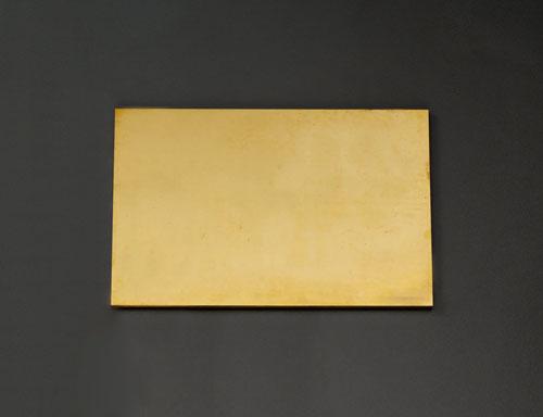 エスコ(ESCO) 300x200x10.0mm 黄銅板 EA441VB-101