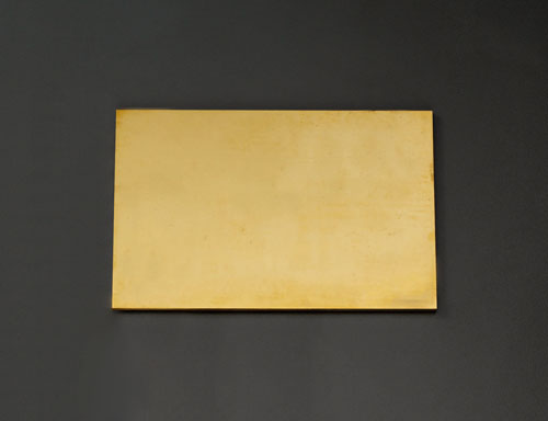 エスコ(ESCO) 300x300x4.0mm 黄銅板 EA441VB-41