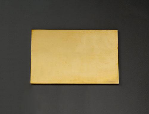 エスコ(ESCO) 300x300x6.0mm 黄銅板 EA441VB-62