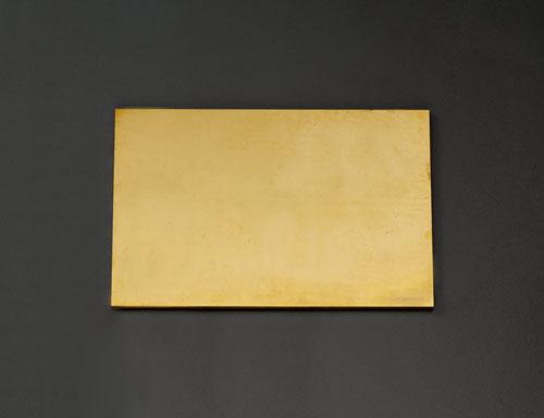 エスコ(ESCO) 600x300x6.0mm 黄銅板 EA441VB-64